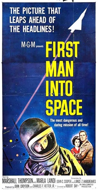 First Man Into Space (1959) poster