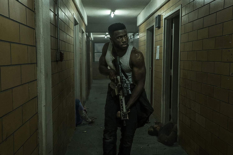 Y'lan Noe as drug dealer hero Dmitri in The First Purge (2018)