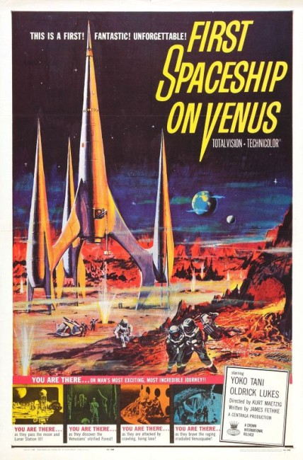 First Spaceship on Venus (1959) poster