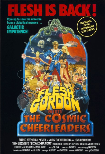 Flesh Gordon and the Cosmic Cheerleaders (1991) poster