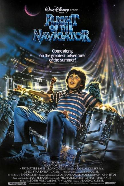 Flight of the Navigator (1986) poster