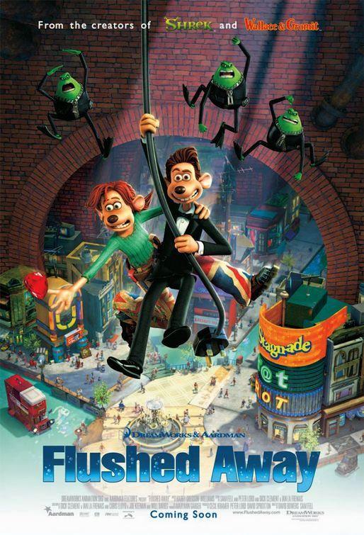 Flushed Away (2006) poster