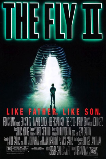 The Fly II (1989) poster