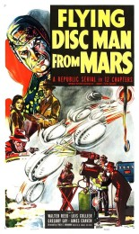 Flying Disc Man from Mars (1950) poster