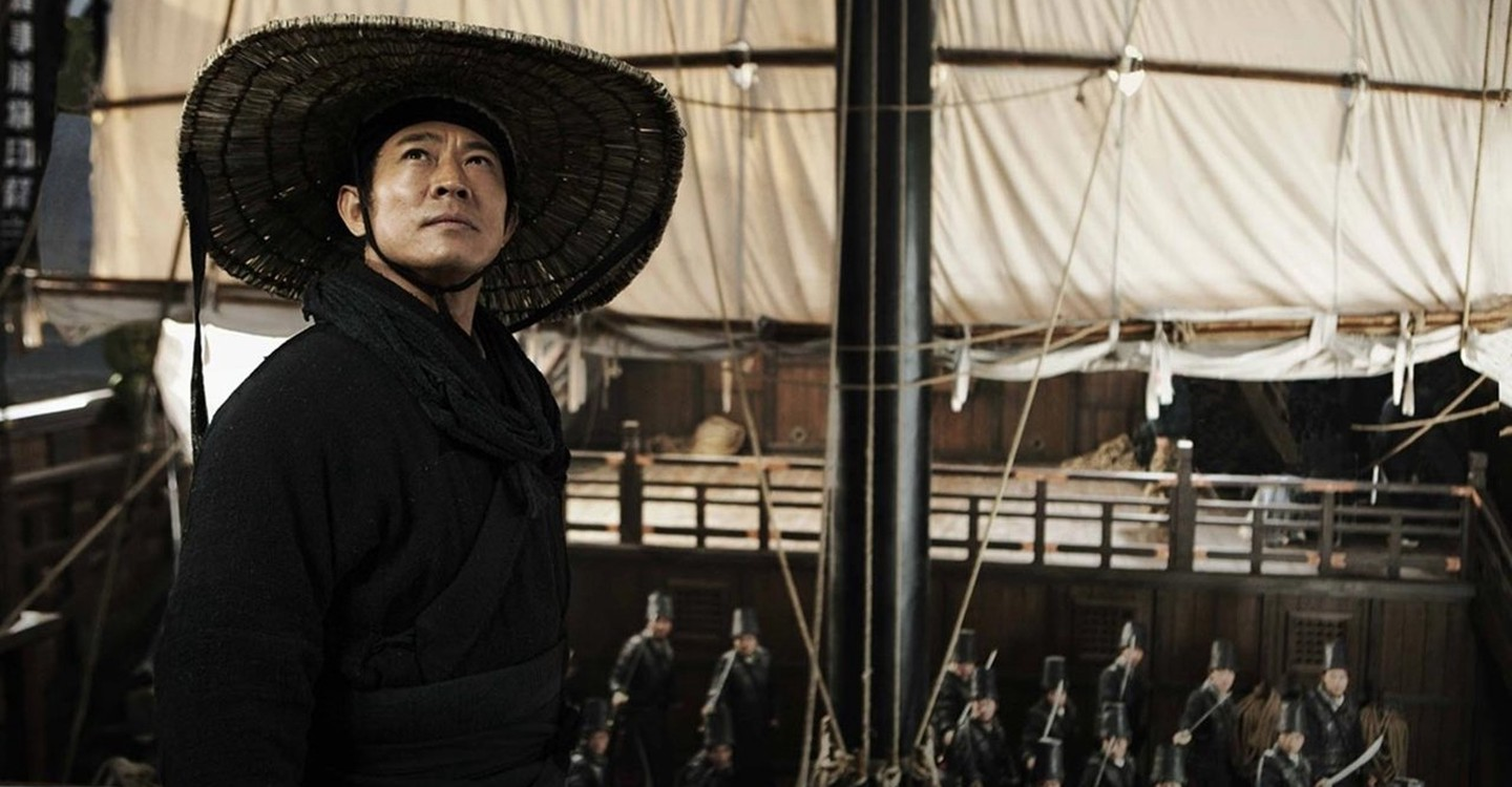 Jet Li as Zhao Huai'an of the East Bureau in Flying Swords of Dragon Gate (2011)