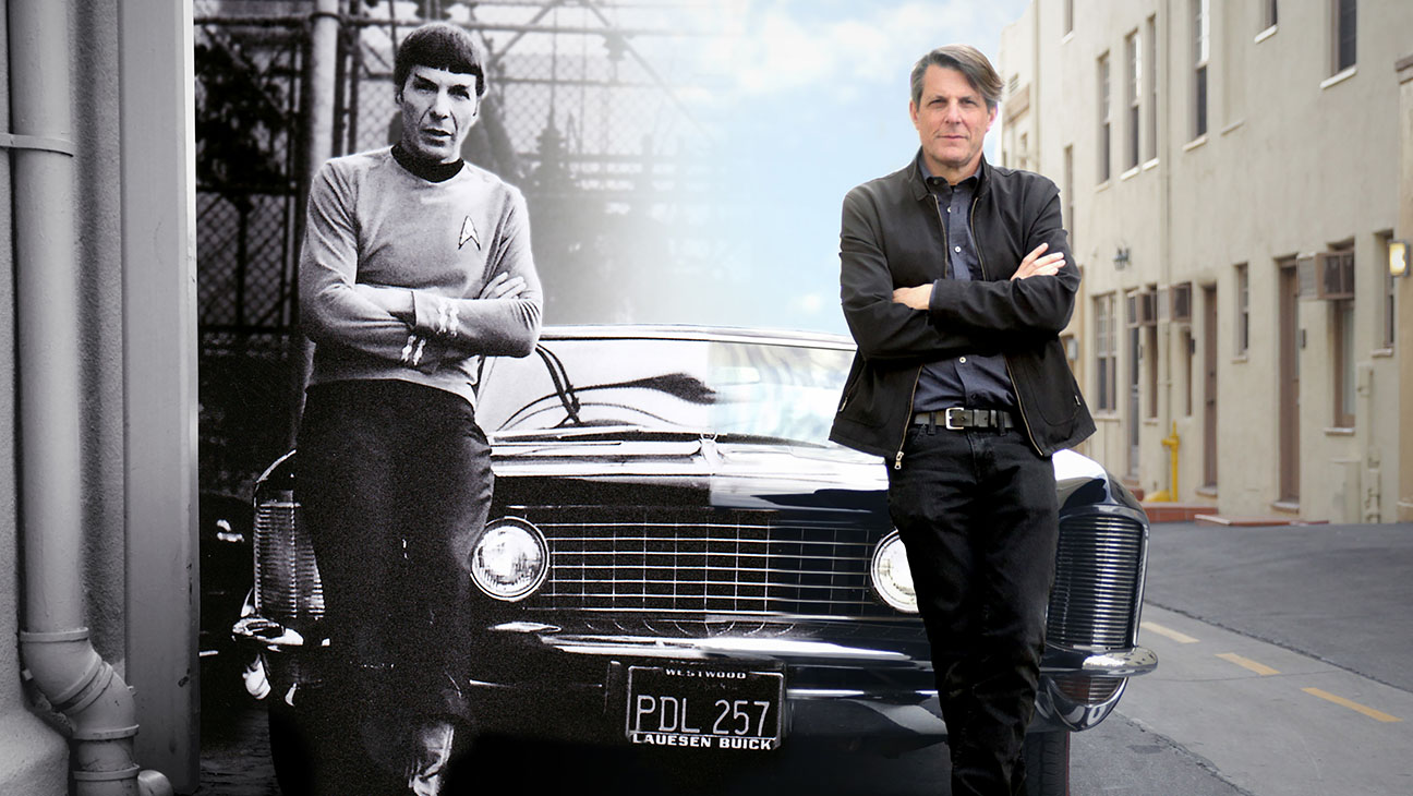 Leonard Nimoy and his son Adam in For the Love of Spock (2016)