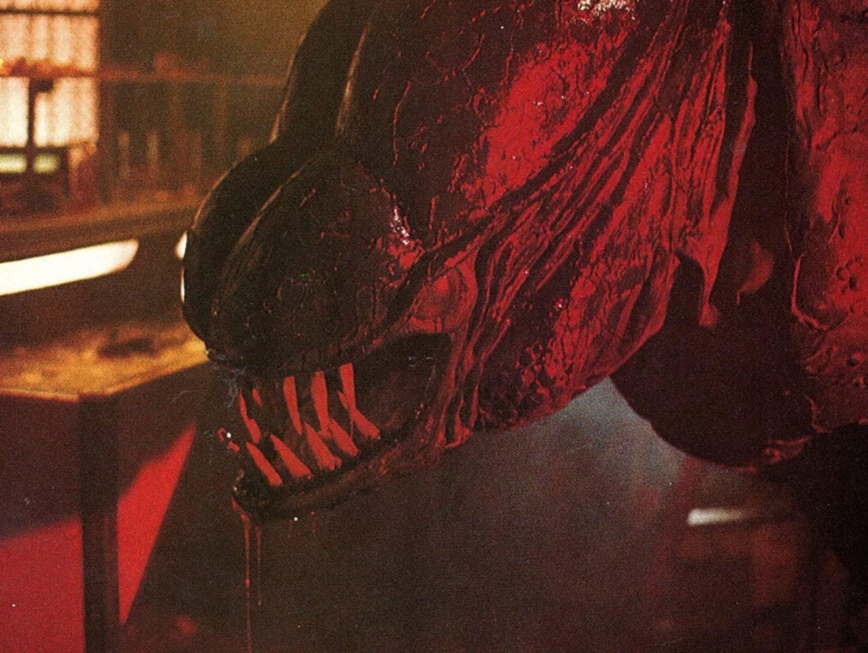 The monster in Forbidden World (1982)