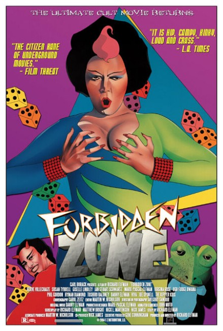 Forbidden Zone (1982) poster