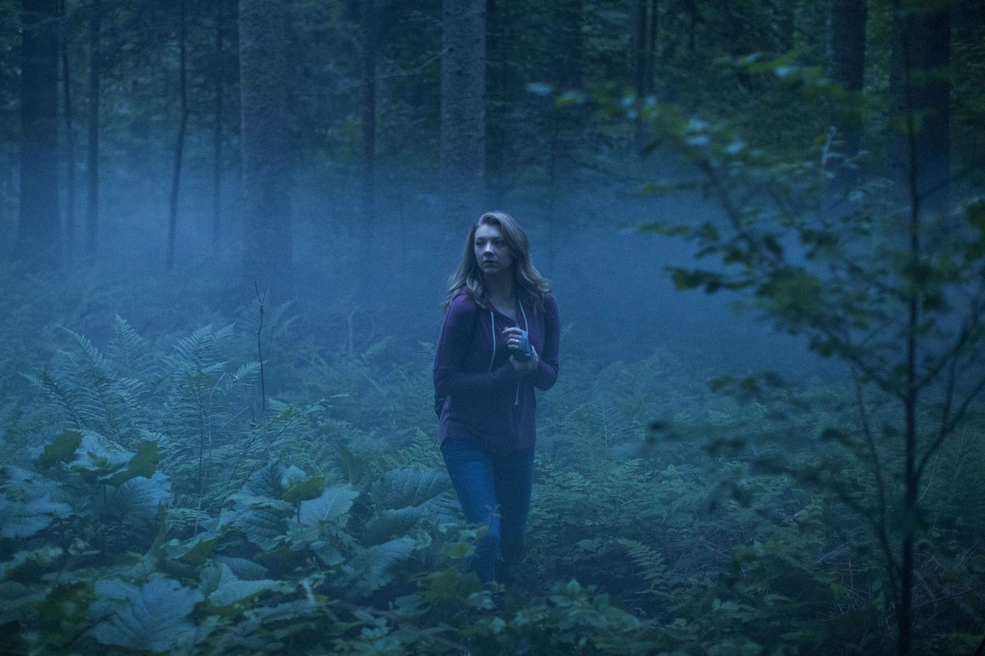 Natalie Dormer in the Aokigahara Forest