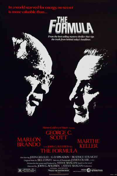 The Formula (1980) poster