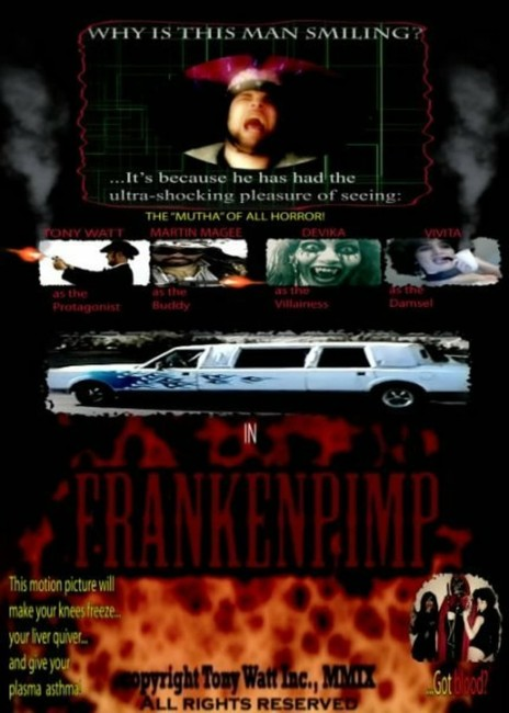 Frankenpimp (2009) poster