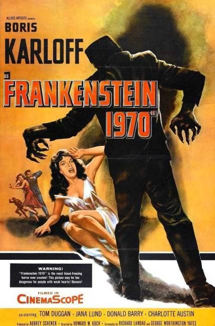 Frankenstein 1970 (1958) poster