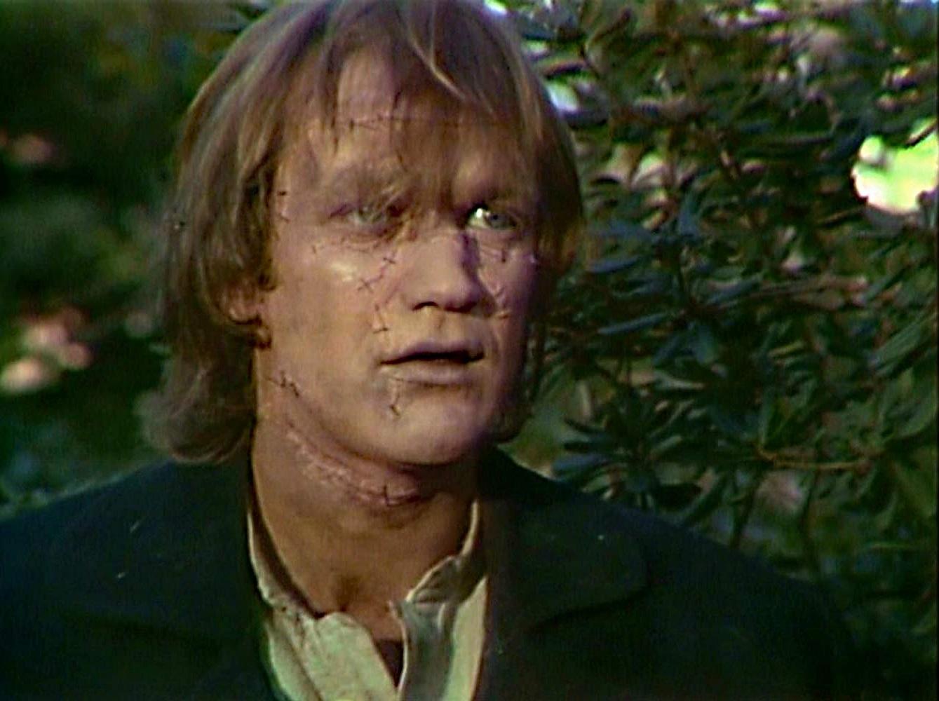 Bo Svenson as the Frankenstein monster in Frankenstein (1973)
