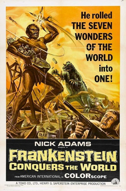 Frankenstein Conquers the World (1966) poster