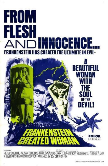 Frankenstein Created Woman (1967) poster