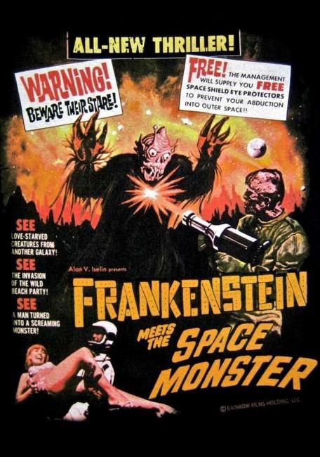 Frankenstein Meets the Spacemonster (1965) poster