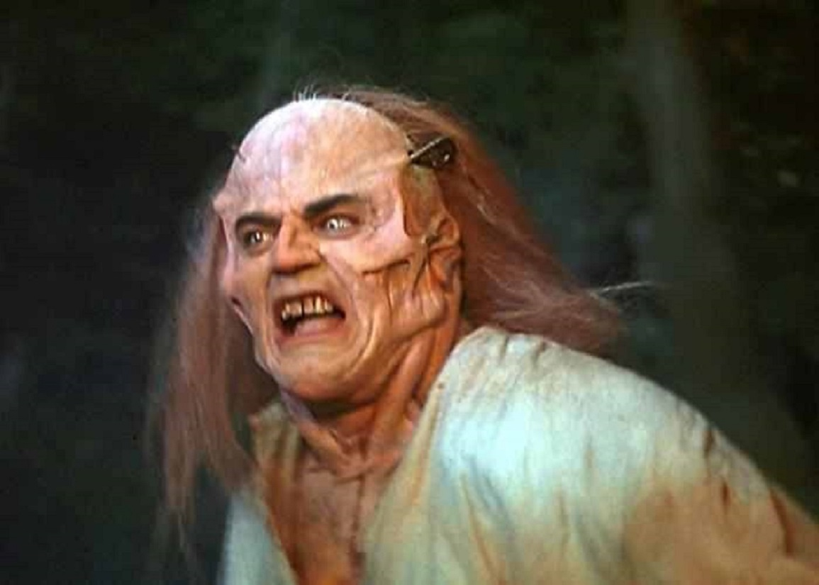The Monster (Nick Brimble) in Frankenstein Unbound (1990)