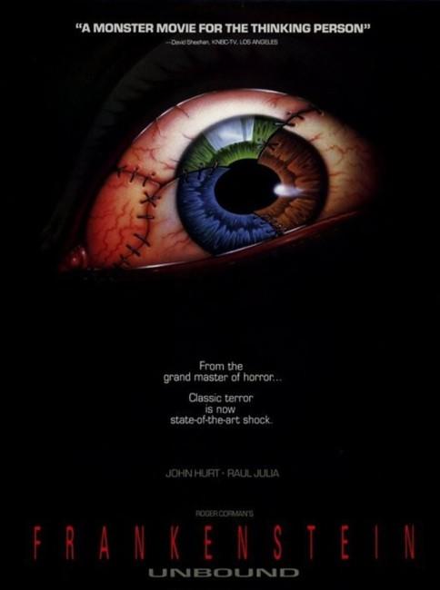 Frankenstein Unbound (1990) poster