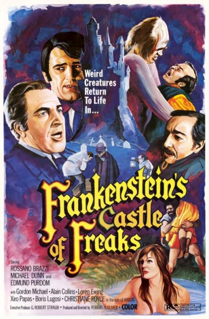 Frankenstein's Castle of Freaks (1974) poster