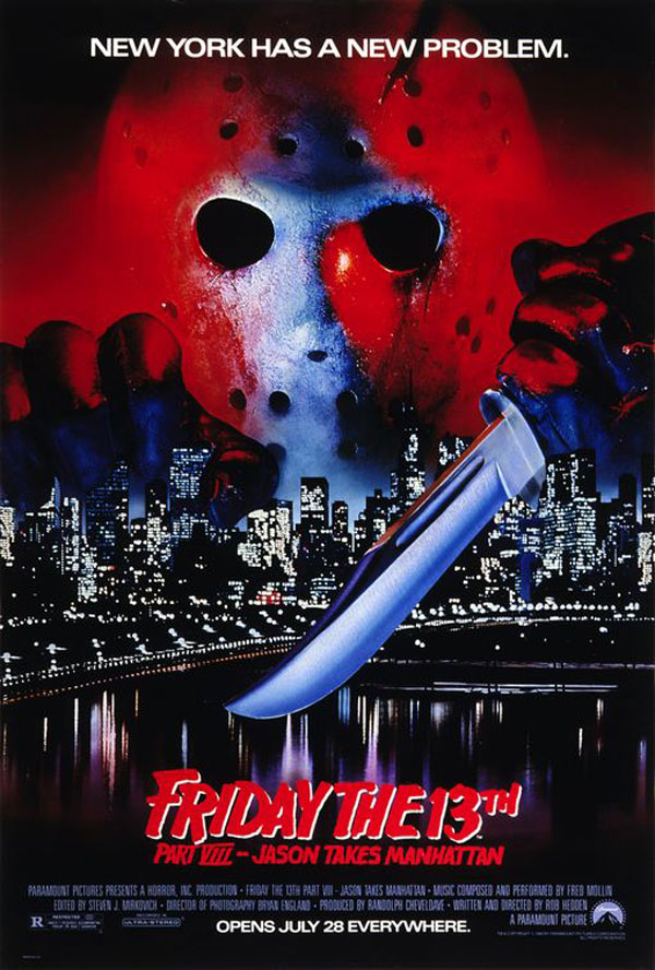 Friday the 13th Part VIII: Jason Takes Manhattan (1989) poster