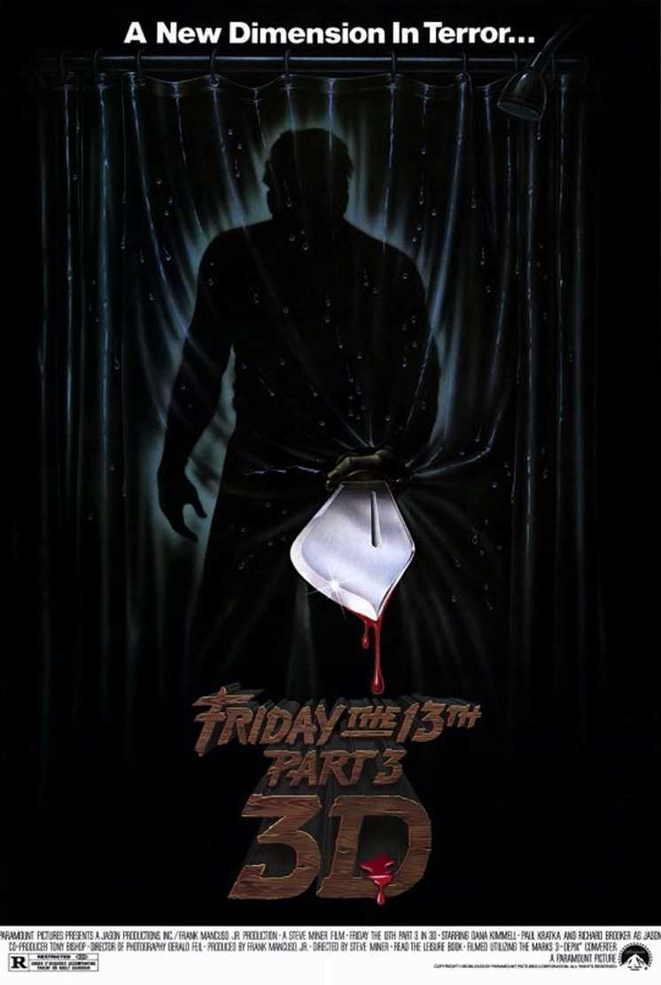 Friday the 13th Part III in 3D (1982) poster