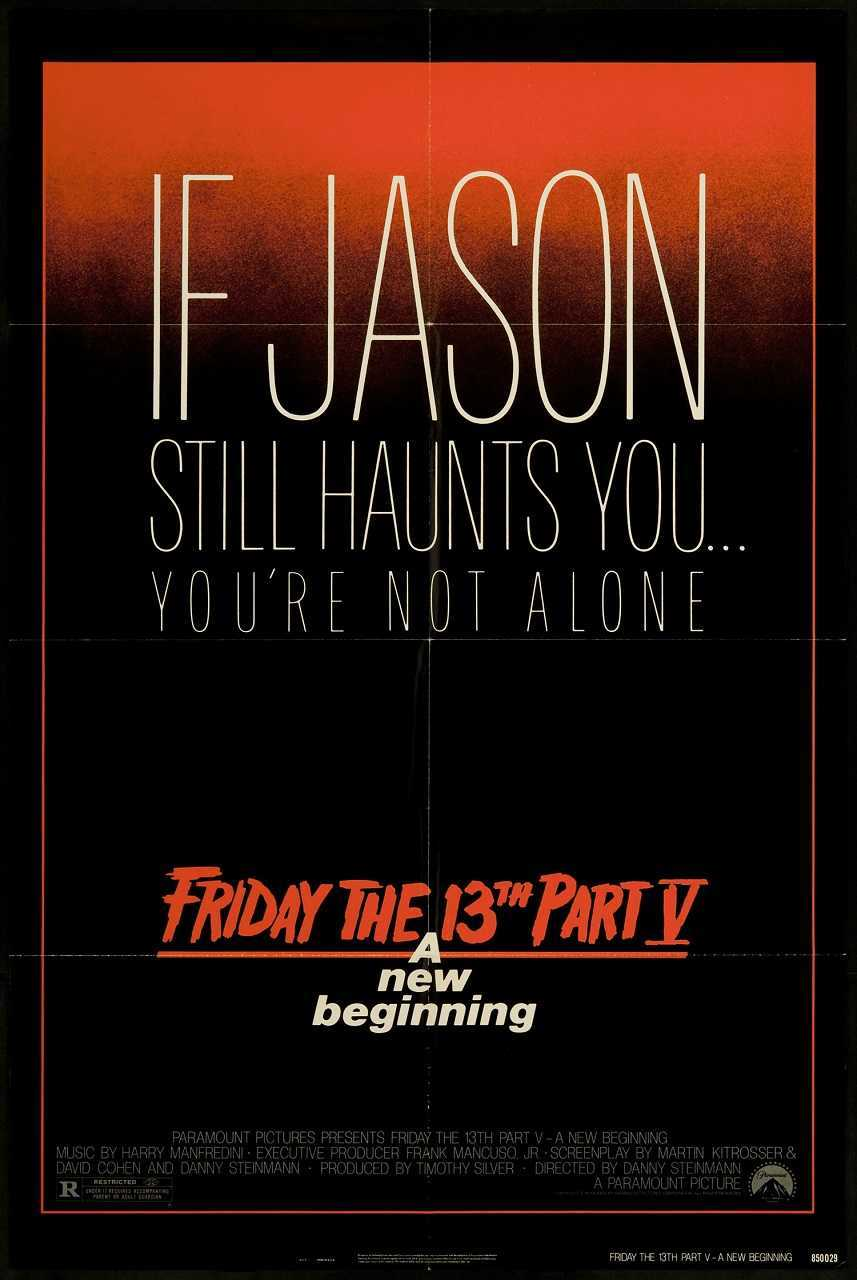 Friday the 13th Part V: A New Beginning (1982) poster