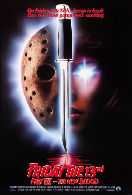 Friday the 13th Part VII: The New Blood (1988) poster