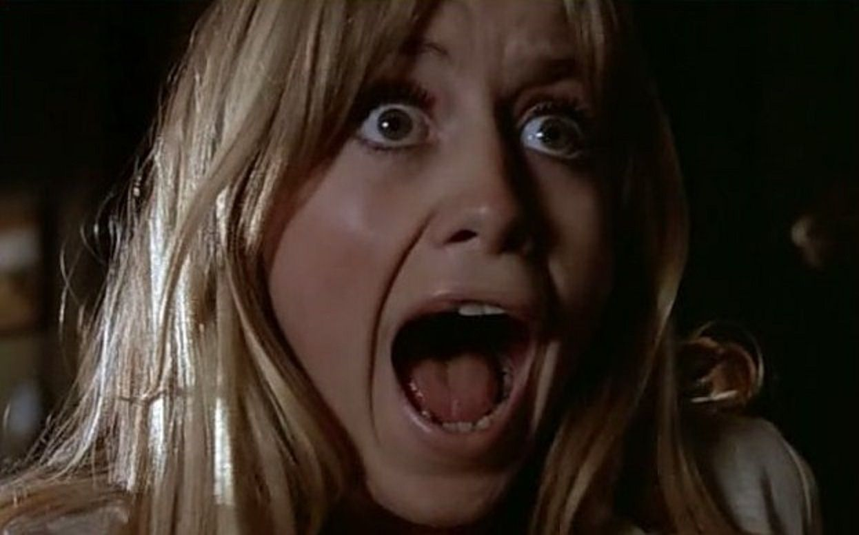 Babysitter Susan George in Fright (1971)