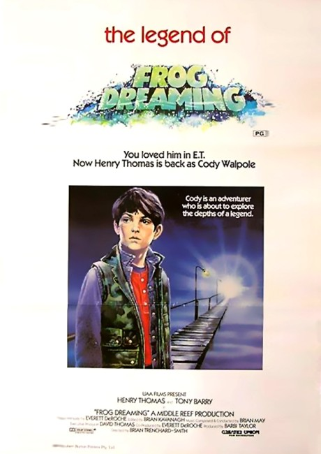 Frog Dreaming (1986) poster