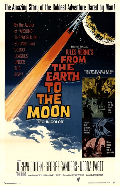 From the Earth to the Moon (1958) poster