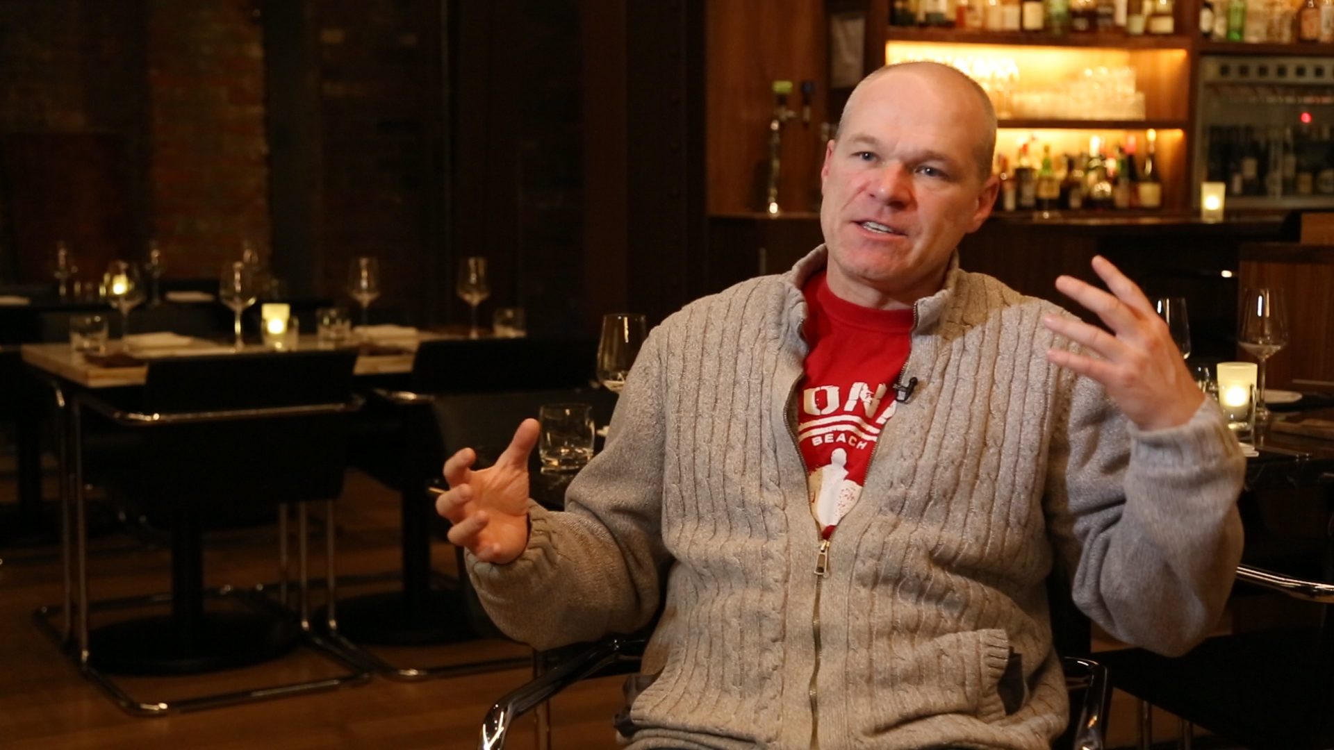 Uwe Boll interviewed amid his Bauhaus restaurant venture in Fuck You All: The Uwe Boll Story (2019)