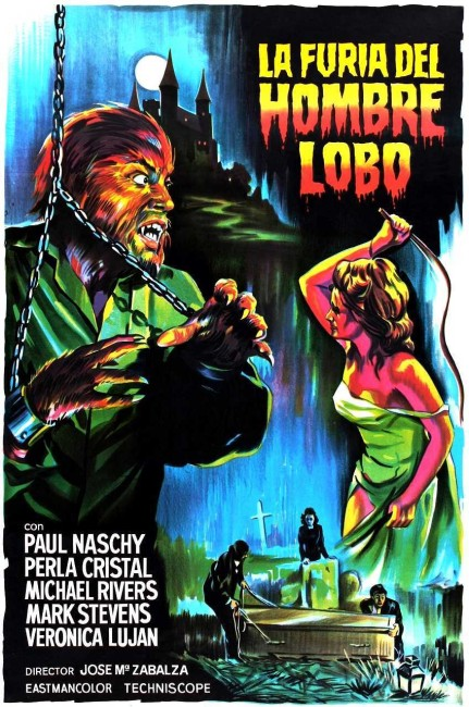 The Fury of the Wolfman (1972) poster