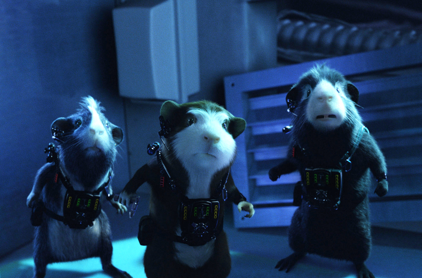 The team prepare to head into action in G-Force (2009)