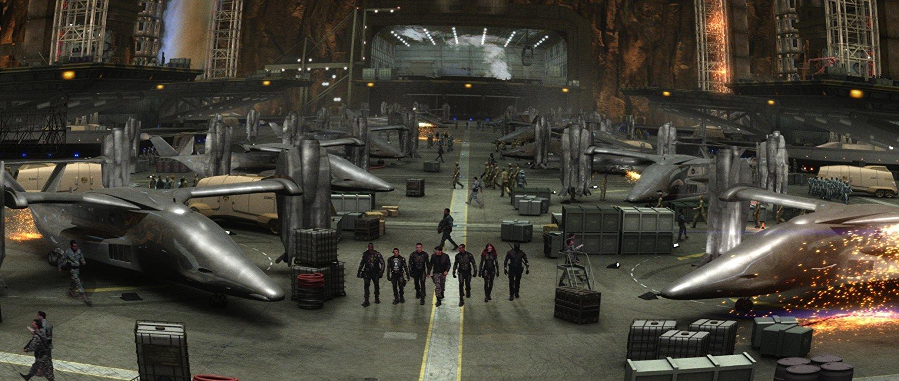 The G.I. Joe base in G.I. Joe: The Rise of the Cobra (2009)