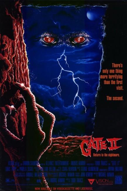 Gate II (1990) poster