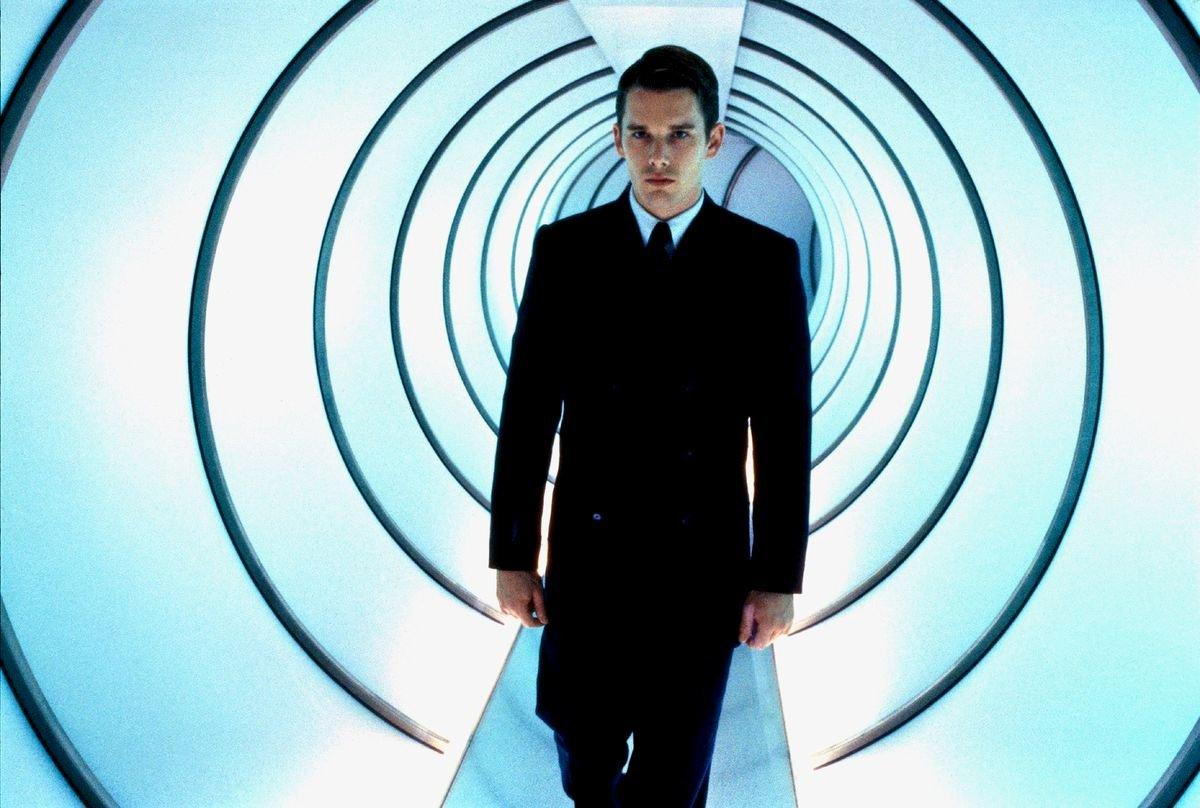 Ethan Hawke as Vincent Freeman, rebel in a genetically-prfected future in Gattaca (1997)