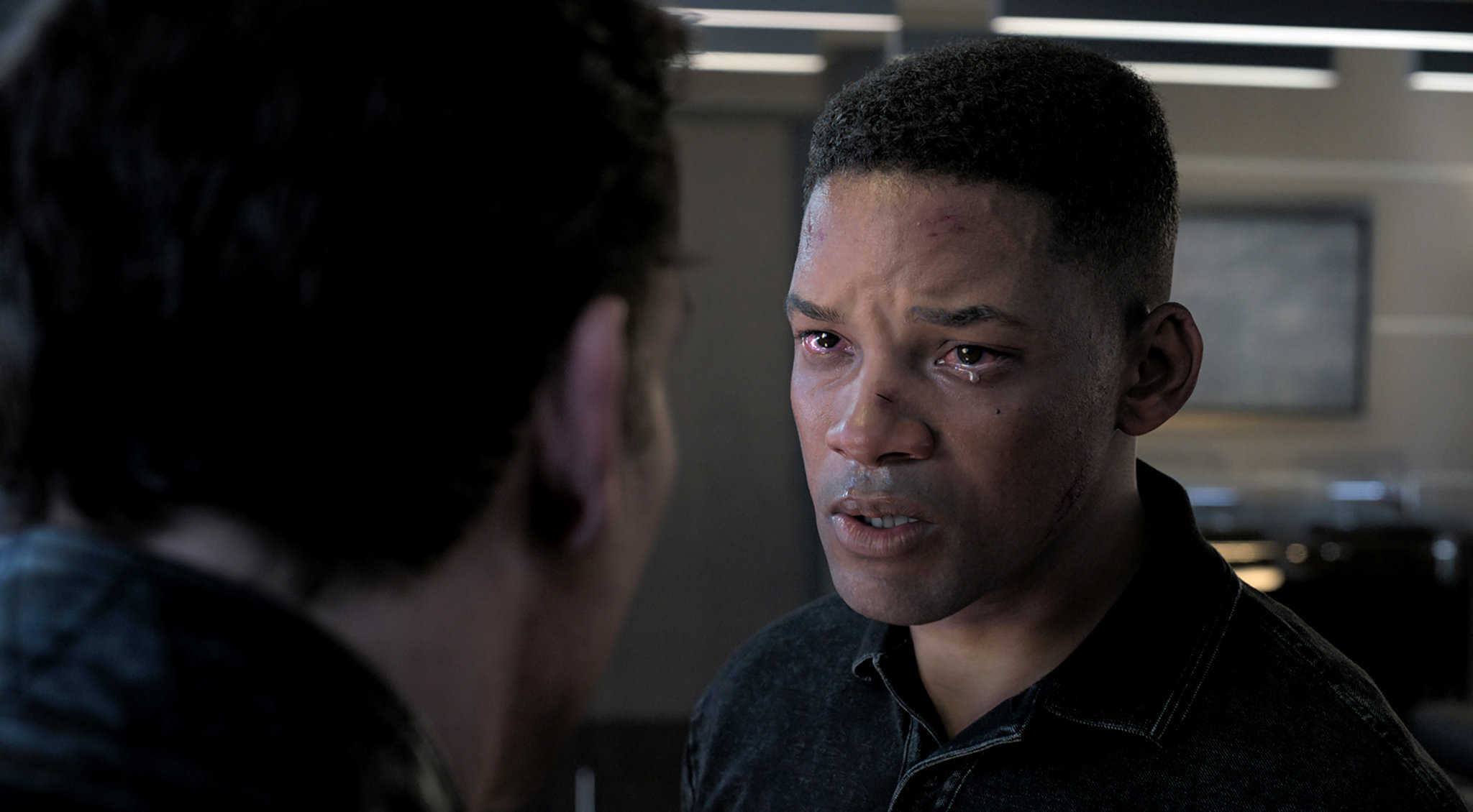 Will Smith as the de-aged clone Junior in Gemini Man (2019)
