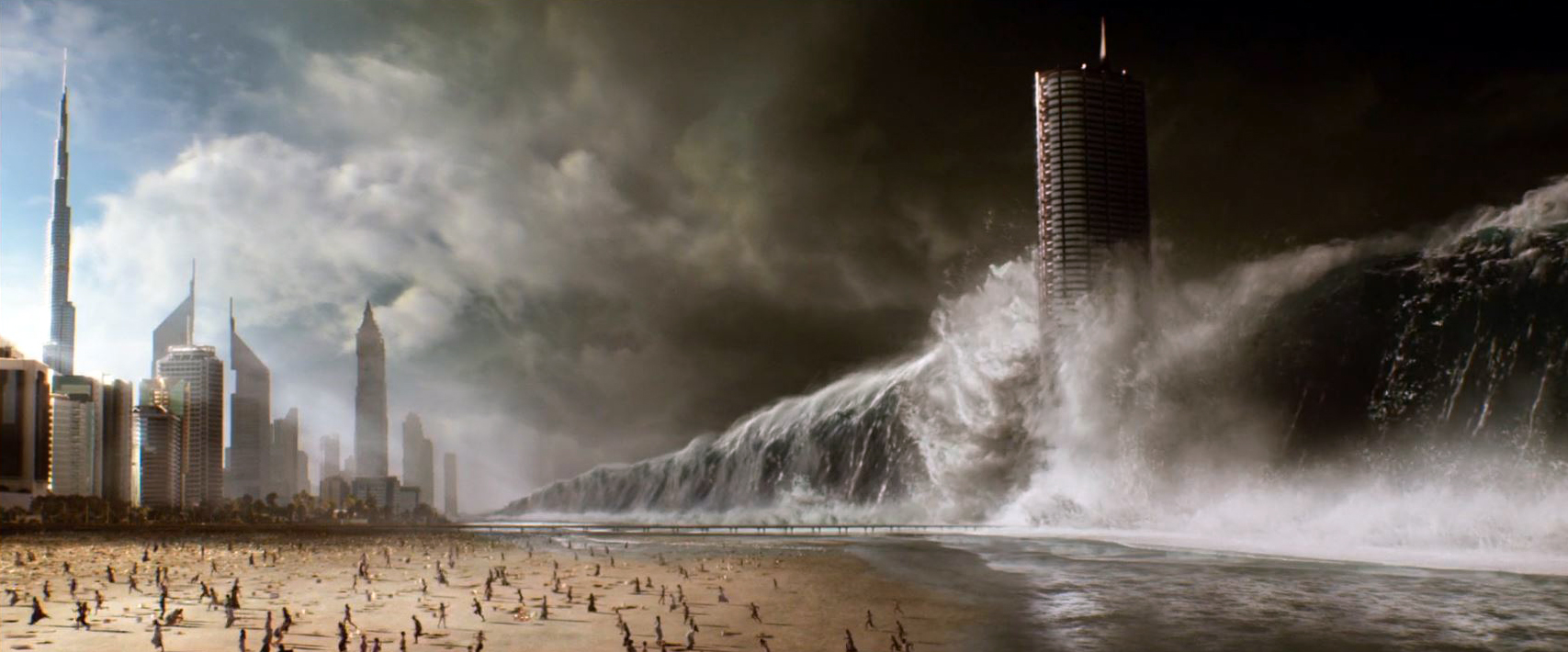 Copious mass destruction in Geostorm (2017)