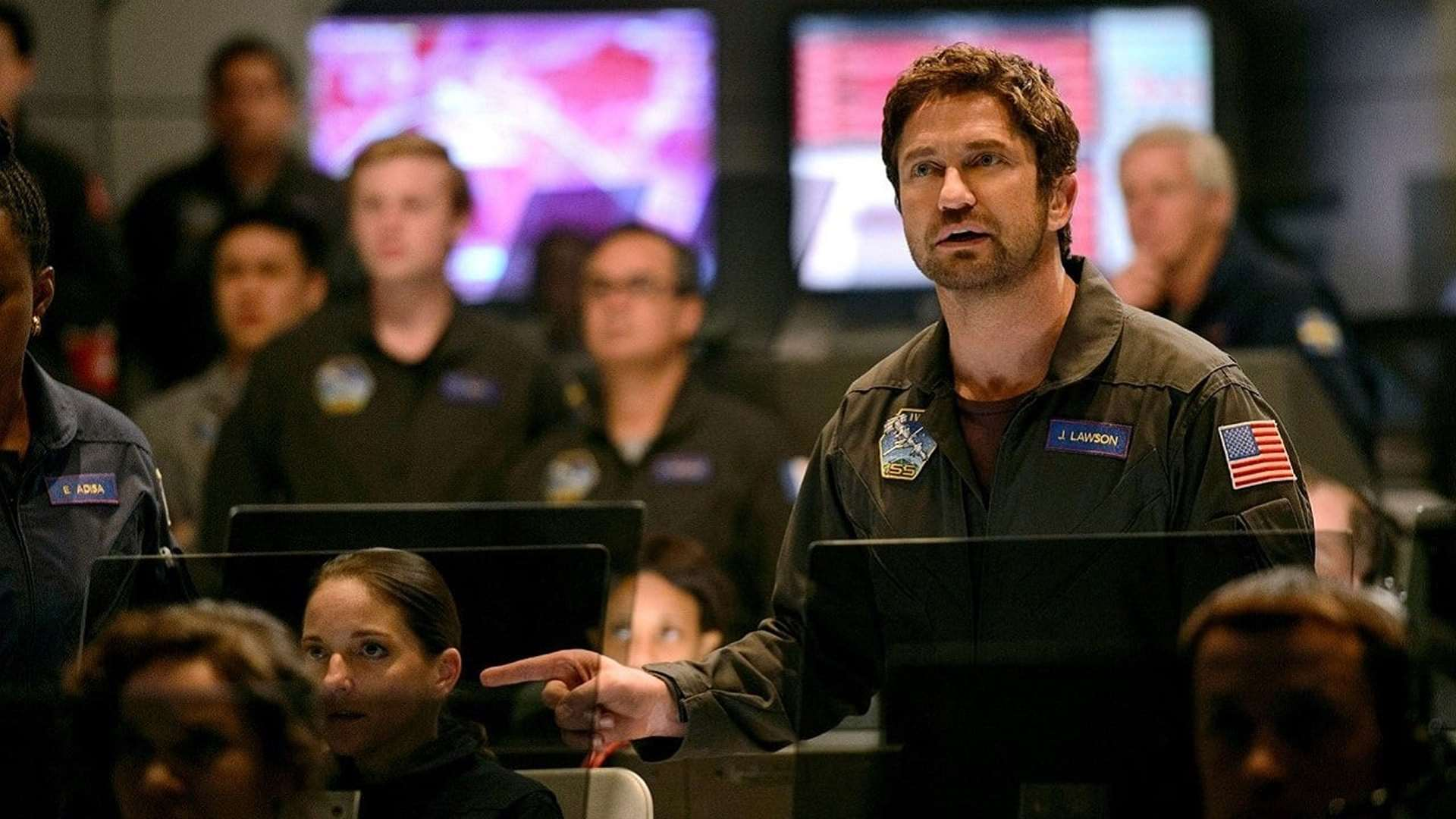 Gerard Butler, NASA engineer in Geostorm (2017)