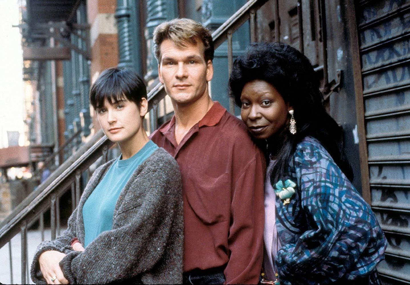 Demi Moore, Patrick Swayze, Whoopi Goldberg in Ghost (1990)