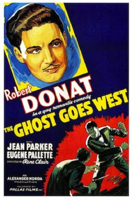 The Ghost Goes West (1935) poster