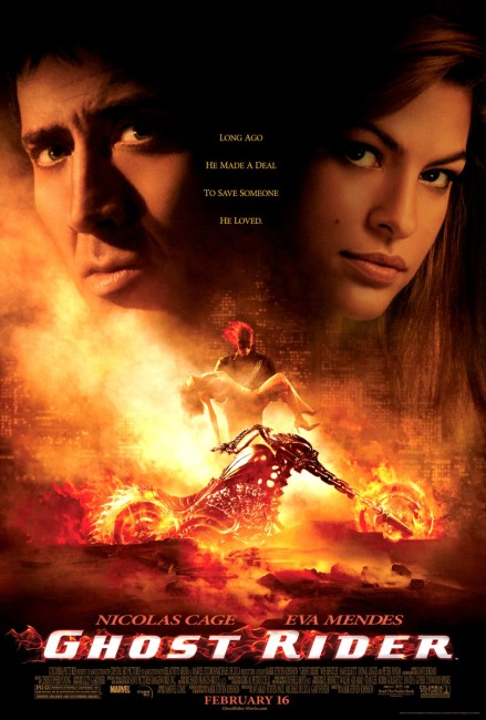 Ghost Rider (2007) poste
