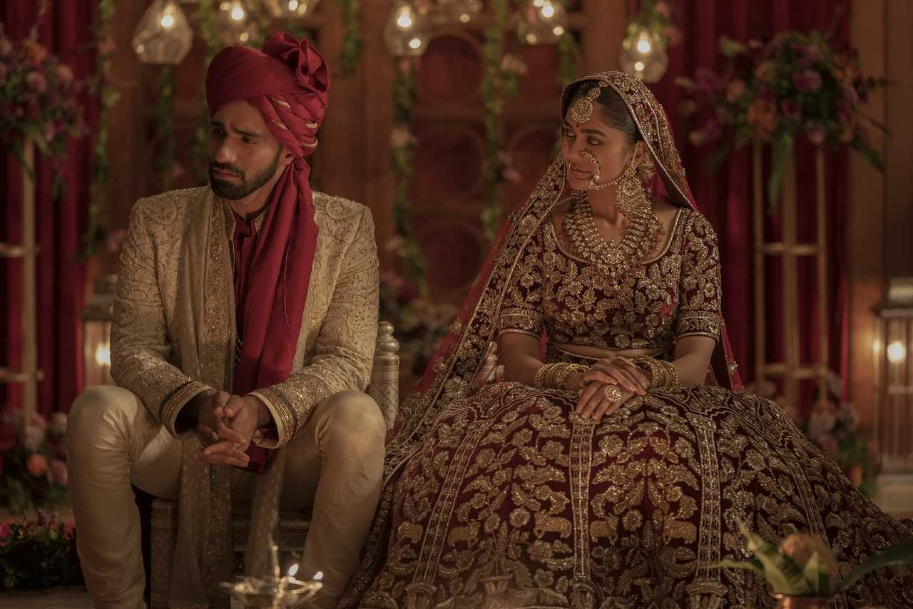 The wedding of Avinash Tiwary and Mrunal Thakur in the Karan Johar episode of Ghost Stories (2020)