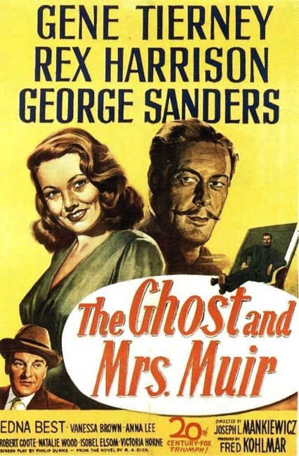The Ghost and Mrs Muir (1947) poster