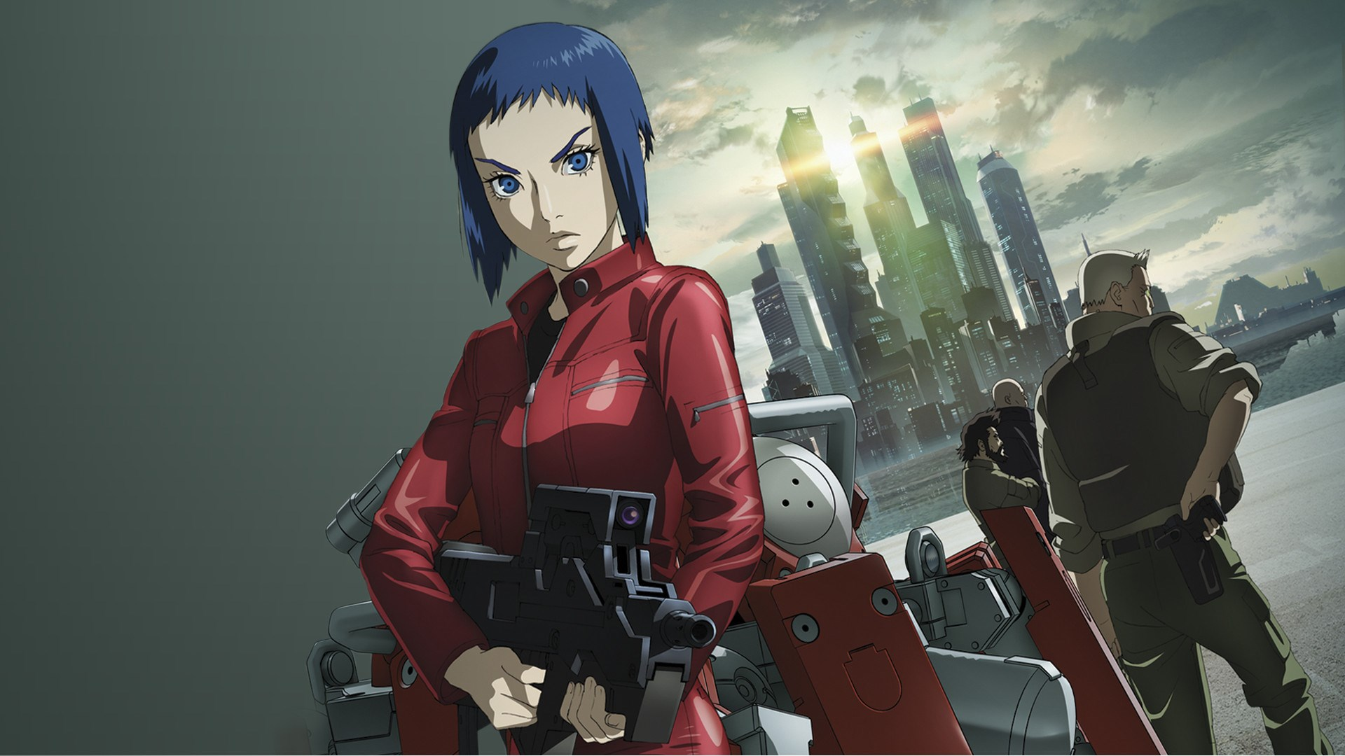Major Motoko Kusanagi in Ghost in the Shell: Arise (2013-2014)