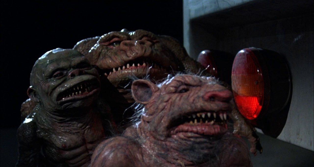 Various of the Ghoulies (1985) - a cheap and tatty copies of Gremlins