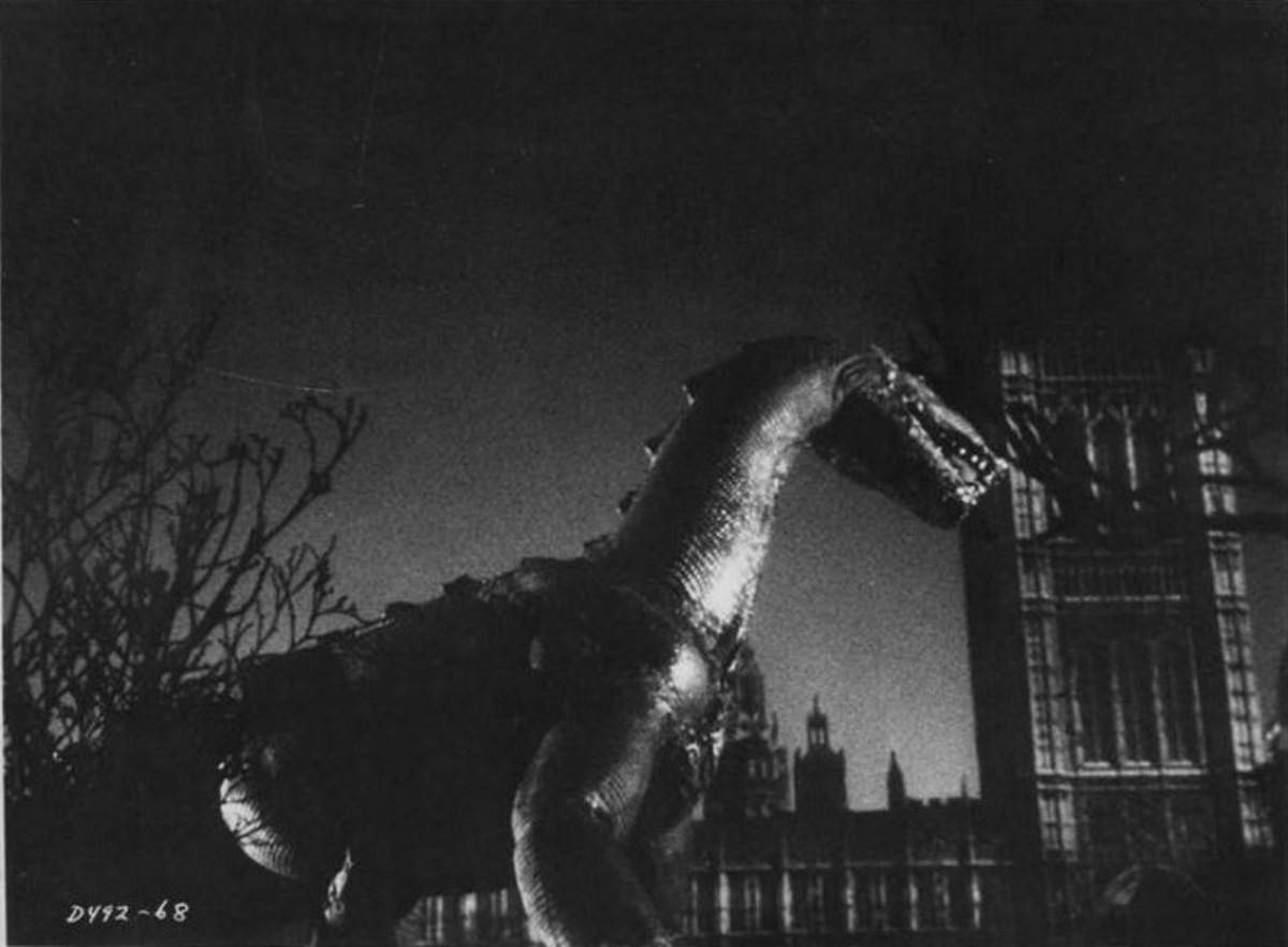 The Giant Behemoth tramples London