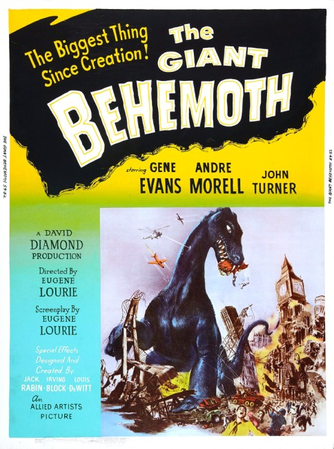 The Giant Behemoth (1958) poster