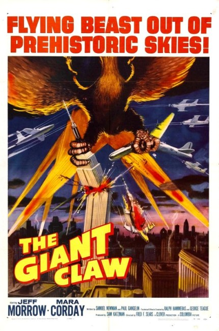 The Giant Claw (1957) poster