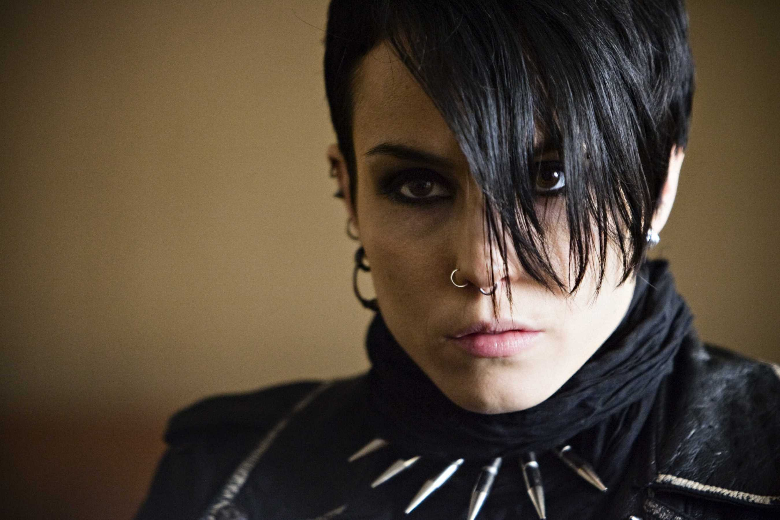 An extraordinary breakout performance from Swedish actress Noomi Rapace as Lisbeth Salander in The Girl with the Dragon Tattoo (2009)